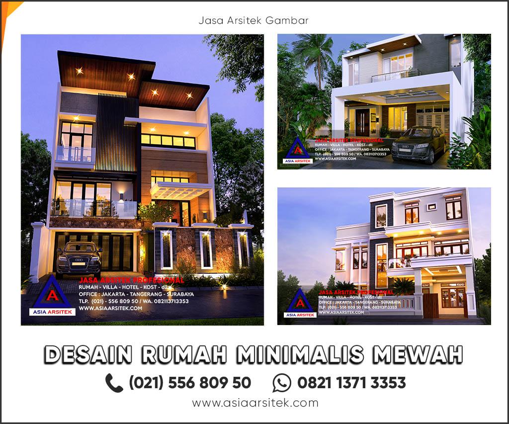 10 Desain Rumah Minimalis Modern Terbaik Asia Arsitek